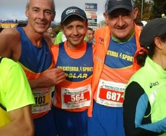 Venti km di Rieti 22 novembre 2015 con Zappala e Benedetti.